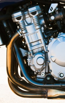 Automotive modern motorcycle engine