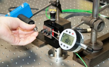 Job at lab is to control measurements