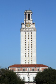 UT Tower University of Texas Austin